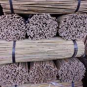 tutores de bambú para agricultura