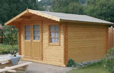 Casetas de madera para jard n agroterra blog - Caseta de madera para jardin ...